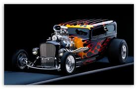 hot rod ultra hd desktop background