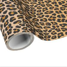 leopard wrapping paper zazzle