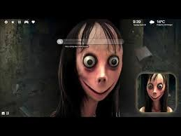momo scary face wallpaper hd