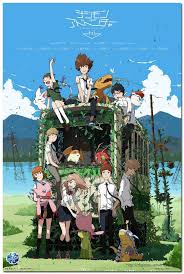 Removable Mural Home Decor 20x30 Inches Wall Sticker Top Selling Digimon Adventure Tri Japan Anime Poster Digimon Adventure Tri Anime Digimon Digital Monsters