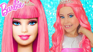 barbie doll kids makeup alisa pretend