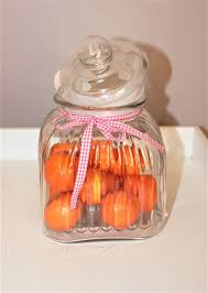 vintage glass jar for cans and
