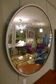 convex mirror mid 20th c in from circus
