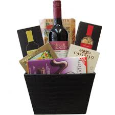 wine gift baskets in canada free