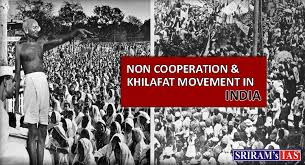 Non-Cooperation & Khilafat Movement in India - SRIRAMS IAS ...