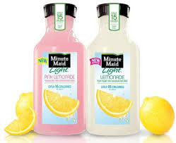 minute maid has new bottle debuts pink
