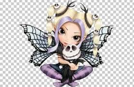 fairy jack skellington strangeling the