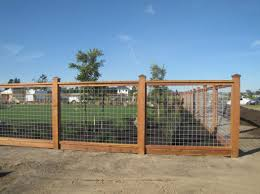 Hog Wire Fence Would Want 1 2 Height Hog Wire Fence Fence Planning Backyard Fences