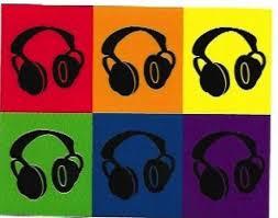 Headphones Vinyl Sticker Decal Retro Pop Art Deejay Etsy