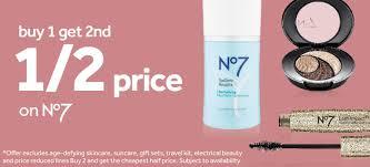 skincare no7