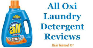 all oxi active laundry detergent