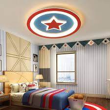 Modern Led Chandeliers Light Kids Boys Room Baby Lights For Bedroom Children Room Red Blue Round Ac85 265v Chandelier Lamp Buy At The Price Of 122 25 In Aliexpress Com Imall Com