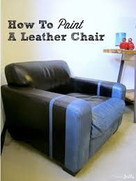 paint leather couch leather