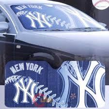 Mlb Ny Yankees Windshield Front Car Window Sun Shade At Cutesense Com