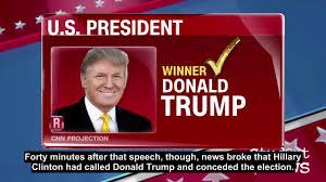 CNN Student News November 9, 2016 with English subtitles. - YouTube