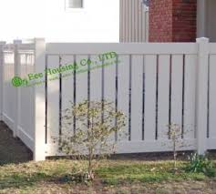 White Vinyl Semi Privacy Fence Vinyl Pool Fencing Vinyl Garden Fence Panels For Sale Decorative Building Materials Manufacturer From China 106556407