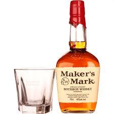 maker s mark bourbon gratis glazen