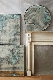 color washed mirror mirror painting