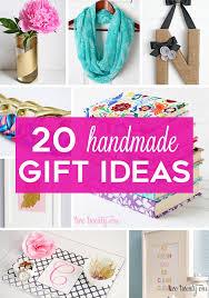 handmade gift 20 ideas for everyone