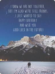 happy birthday ex birthday wishes for ex