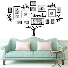 Diy Family Photo Frame Tree Wall Decals Family Tree Collage Wall Sticker For Living Room Home Decor Walmart Com Walmart Com