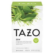 zen green tea tazo tea