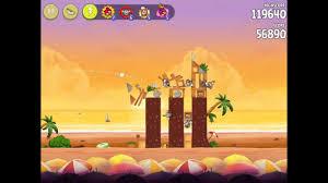 Angry Birds Rio - Golden Beachball. Level 1. 3 stars. [HD] - YouTube