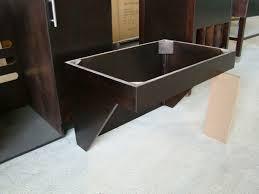 ADA Bathroom Wood Vanity Base