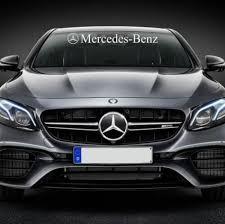 Mercedes Benz Front Windshield Decal Sticker A Class Amg C Class E Class Cl Mercedesbenz Amg C Class Mercedes Benz