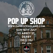 DankOfEngland Pop up shop in #Derby on ...