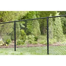 4 Ft H X 50 Ft L 9 Gauge Vinyl Coated Steel Chain Link Fence Fabric In The Chain Link Fence Fabric Department At Lowes Com