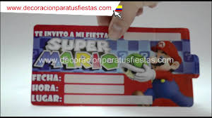 Tarjetas De Invitacion Para Decoracion Infantil De Cumpleanos De