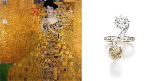 woman in gold s al diamond ring