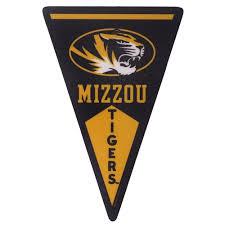 The Mizzou Store Mizzou Tigers Black Pennant Sticker