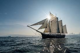 hd wallpaper sea sailboat schooner