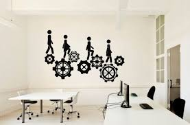 Office Quote Wall Decal Idea Teamwork Business Worker Inspire Etsy