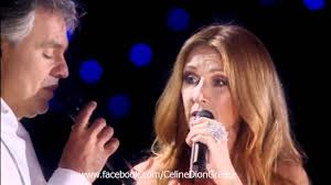 Celine Dion & Andrea Bocelli - The Prayer Live @ Central Park NY ...