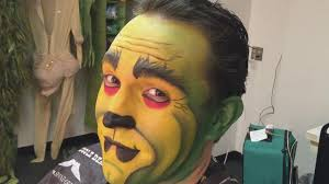 grinch stole behind the scenes makeup