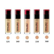 makeup foundation infalible 125