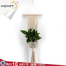 china macrame plant hangers hand woven