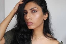 brown skin natural glowy makeup