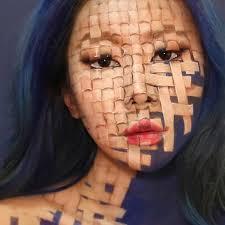 dain yoon creates mind bending body art