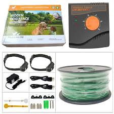 New Underground Electric Dog Fence 5000 Square Meters Pet Fence System Waterproof Shock Training Collar For 1 2 3 Dogs Training Collars Aliexpress