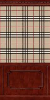 burberry wallpaper with double coffered
