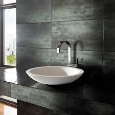 pure white stone resin countertop basin
