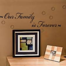Our Family Is Forever Creative Quotes Wall Decal Decorative Vinyl Wall Stickers Best Selling 8179 Vinyl Wall Stickers Wall Stickerquote Wall Decal Aliexpress