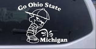 Go Ohio State Car Or Truck Window Decal Sticker Rad Dezigns