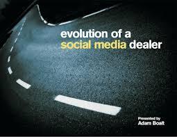 Evolution of a Social Media Dealer