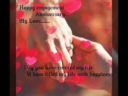 engagement anniversary 💖 enagement anniversary wishes greetings