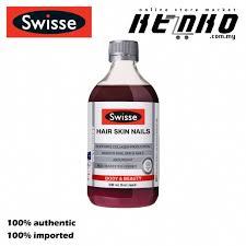 swisse hair skin nails liquid 500ml